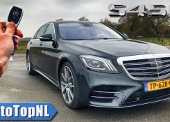2019 Mercedes-Benz S Class S450 4Matic Long REVIEW POV Test Drive on AUTOBAHN & ROAD