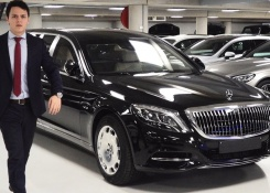 2019 Mercedes Maybach S600 Pullman GUARD – V12 Full Review Interior Exterior Security