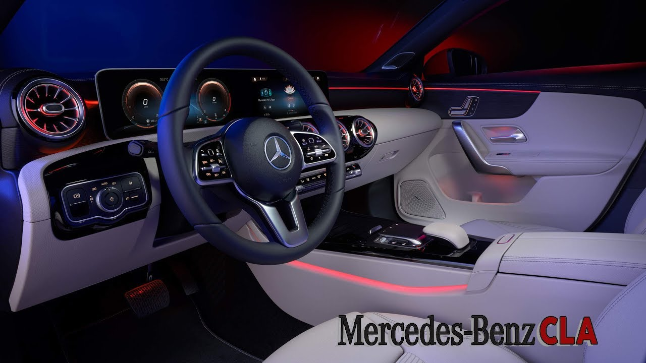 2020 Mercedes-Benz CLA INTERIOR – Excellent Coupe