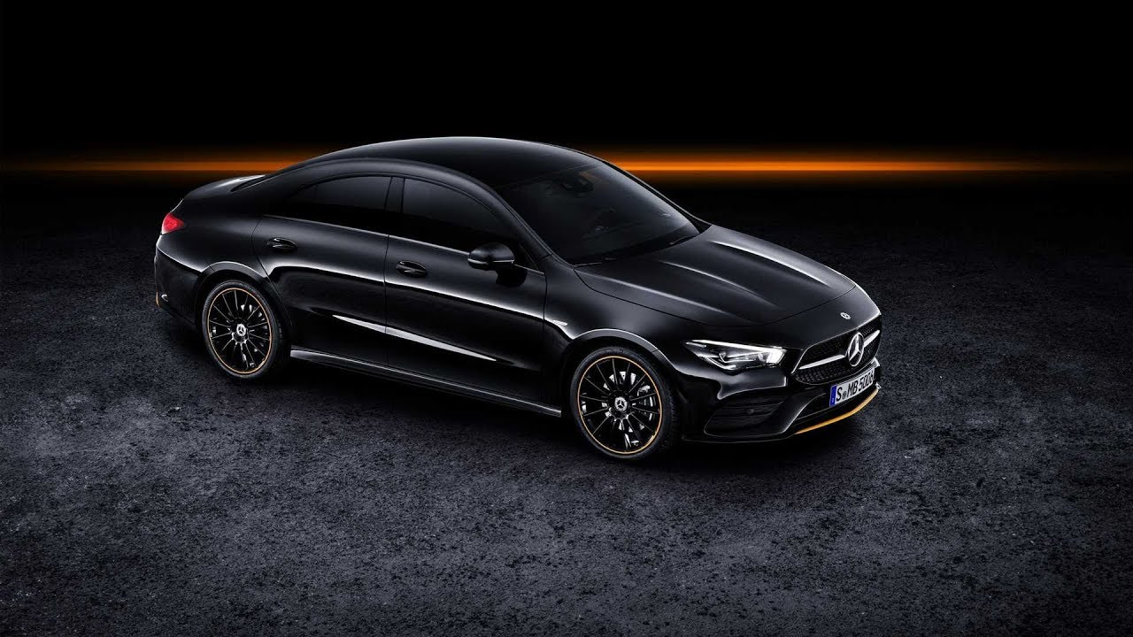 2020 Mercedes CLA Edition 1 design