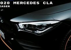 2020 Mercedes CLA Teaser