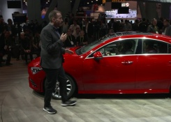 2020 Mercedes CLA – Video Walkaround live from CES-Debut in Las Vegas