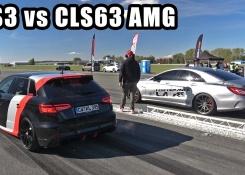 500HP Audi RS3 Sportback vs 920HP Mercedes-Benz CLS63 AMG