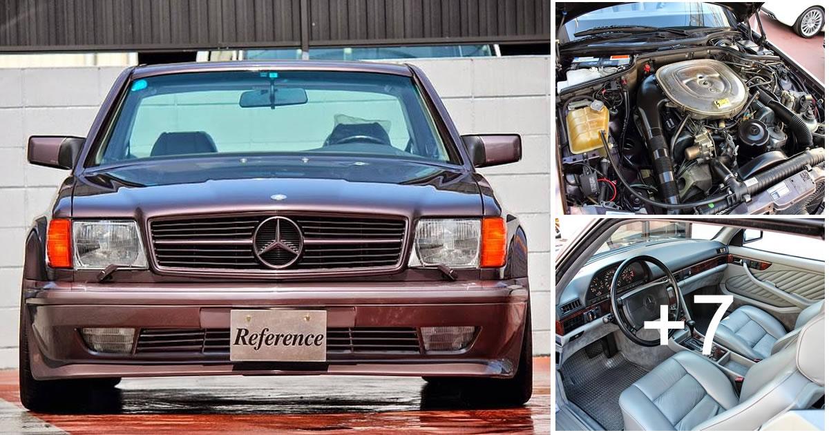 Mercedes-Benz W126 560 SEC