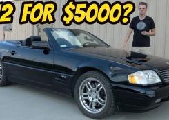 I Bought a Broken V12 Mercedes SL600 for only $5000