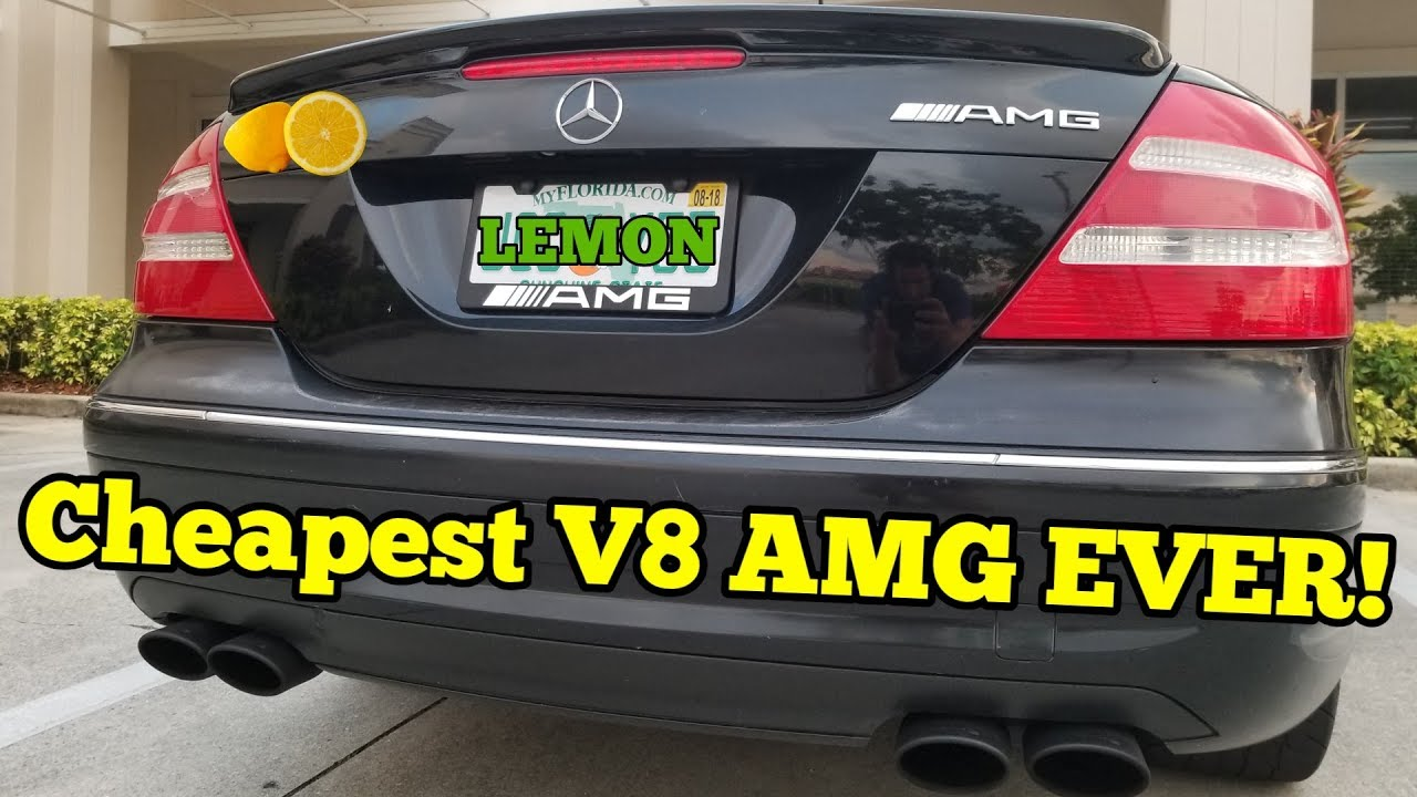 I Bought a Cheap LEMON Mercedes AMG but HAD to Give It Away