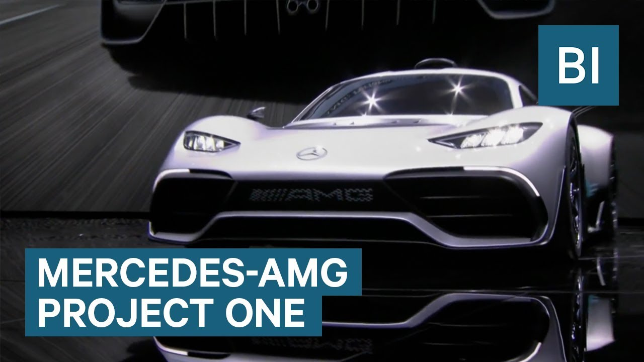Mercedes AMG Project One $2.7 million hypercar