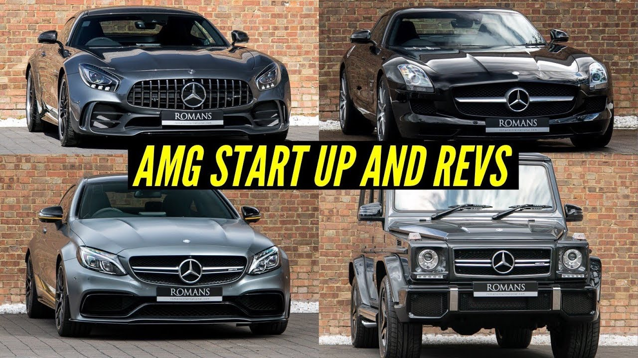 Mercedes AMG Start Up and Revs