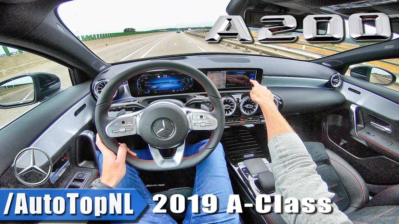 Mercedes Benz A Class 2019 AMG Line POV Test Drive