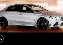 Mercedes-Benz A-Class Sedan 2018 Trailer