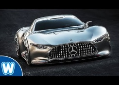 Mercedes-Benz AMG Vision GT – Bruce Wayne's New Car From Justice League Movie 2017