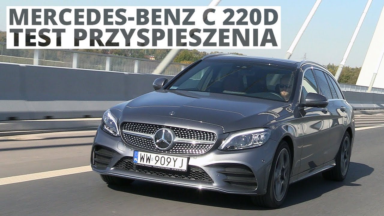 Mercedes-Benz C 220d 2.0 Diesel 194 KM (AT) - acceleration 0-100 km/h