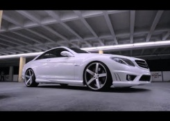 Mercedes Benz CL63 Series on 22″ Vossen VVS-CV3 Concave Wheels | Rims