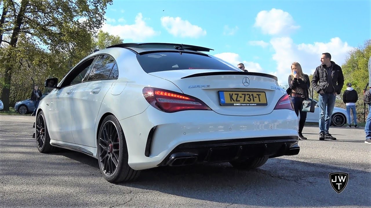 Mercedes-Benz CLA45 AMG Exhaust SOUNDS! REVS, Launch Control & More!