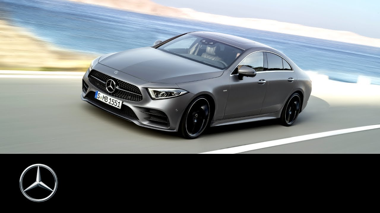 Mercedes-Benz CLS 2018: World Premiere Trailer