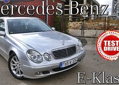 MERCEDES BENZ E-Class (W211) 2004 – TEST and REVIEW