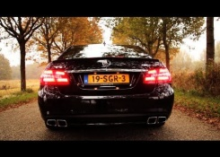 Mercedes-Benz E63 AMG Review – English subtitled