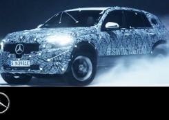 Mercedes-Benz EQC 2019: Winter Test