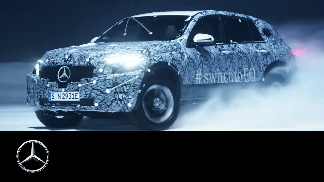 Mercedes-Benz EQC 2019: Winter Test