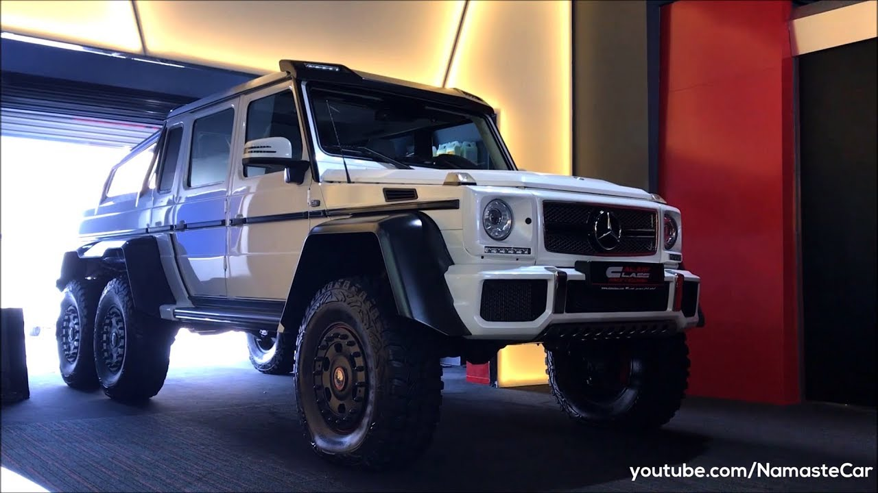 Mercedes-Benz G63 AMG 6x6/Maybach G650 Landaulet 2018 | Real-life review
