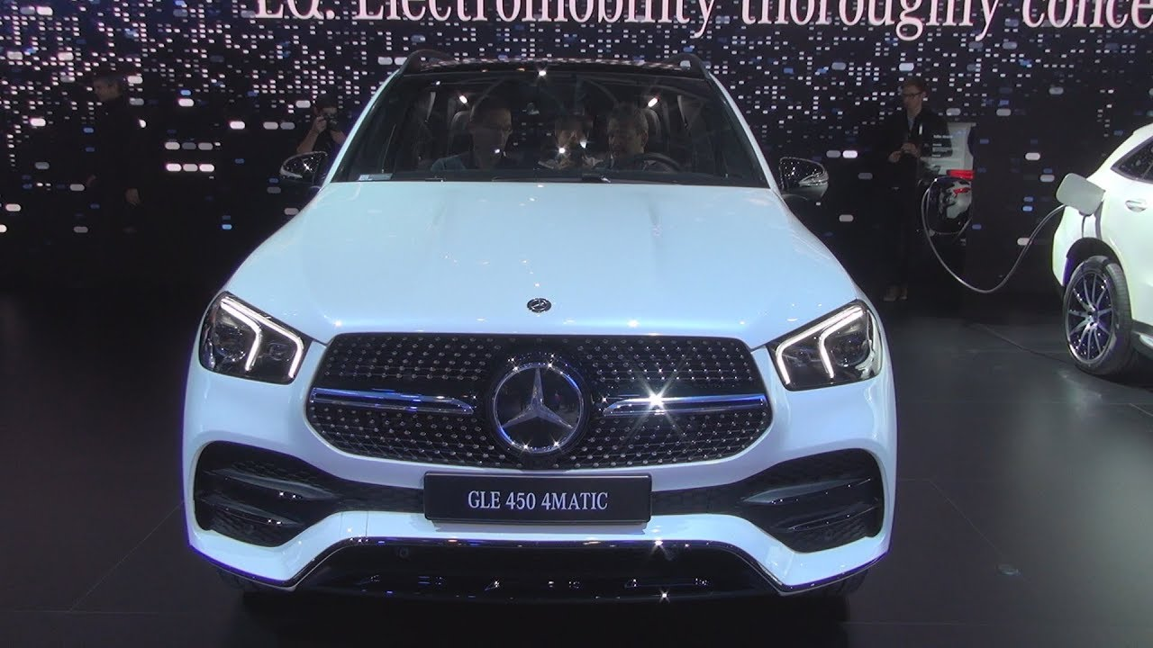 Mercedes-Benz GLE 450 4MATIC (2019) Exterior and Interior