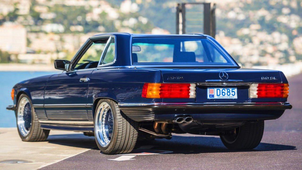 Mercedes-Benz SL 6.0 AMG R107 1986