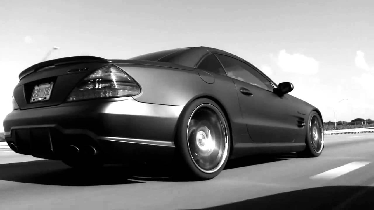 Mercedes Benz SL55 on 20 Vossen