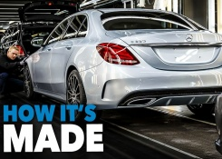 Mercedes C-Class CAR FACTORY – HOW IT'S MADE Assembly Production Line Manufacturing Making of