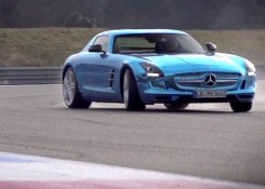 Mercedes SLS Electric Drive. Can Volts Ever Match Pistons?