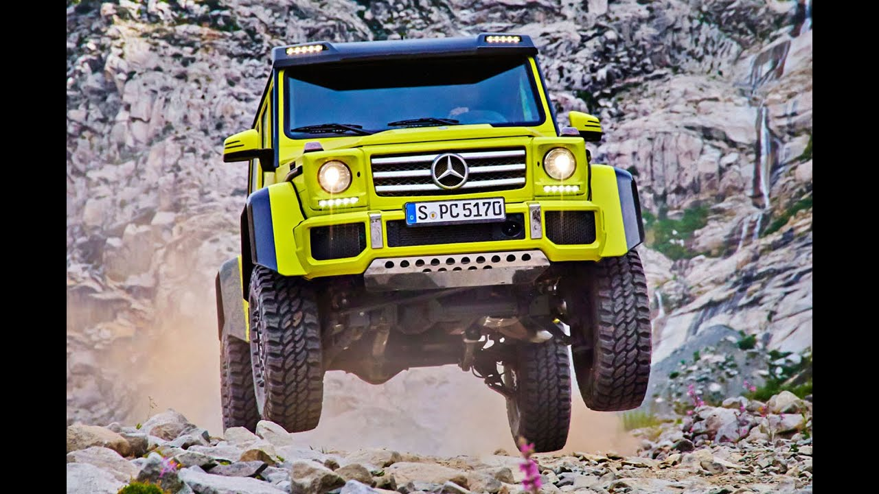 New Mercedes-Benz G500 4x4² revealed