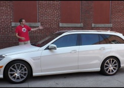 The Mercedes-Benz E63 AMG Wagon Is the Ultimate Family Car