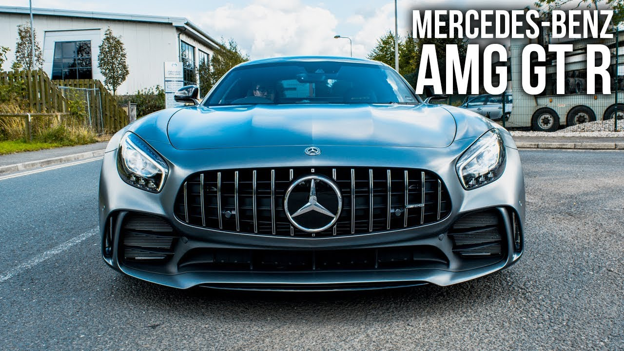 The New Mercedes-Benz AMG GTR!