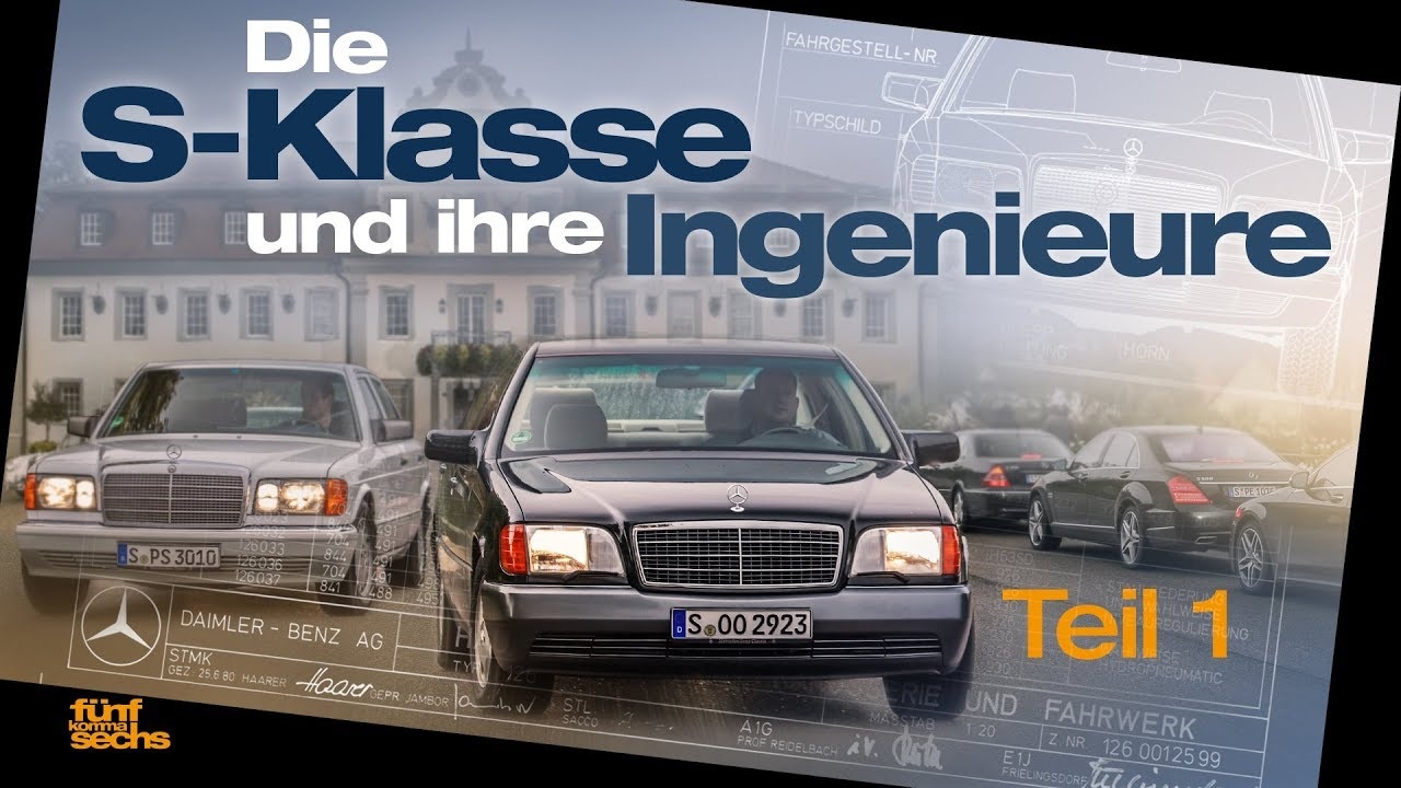 The S-Class and Its Engineers: from W109 to W140 (German)