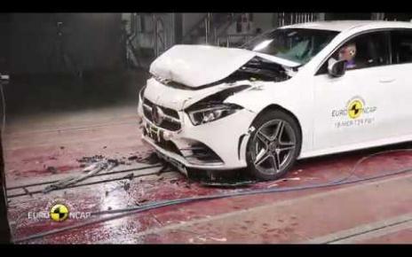 2019 Mercedes-Benz A-Class Crash Test