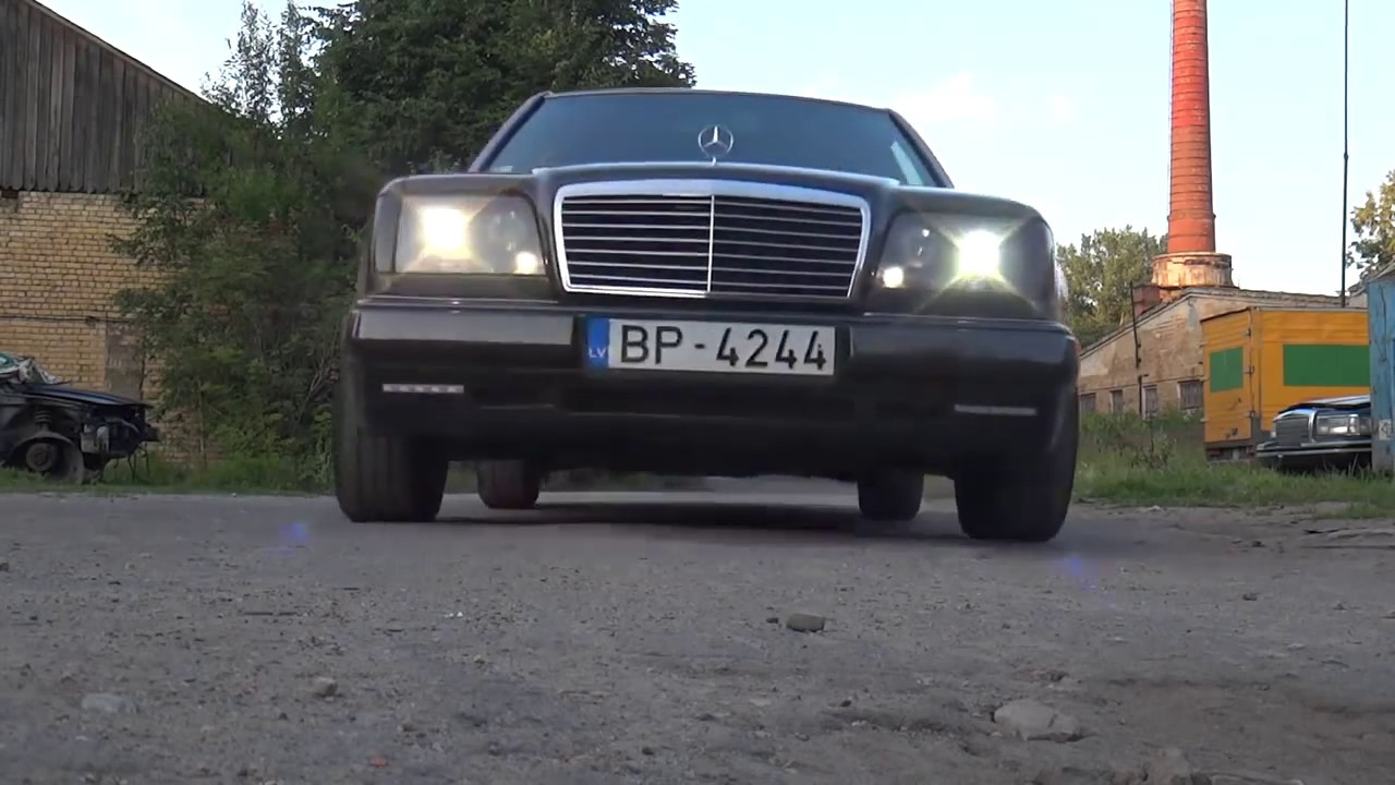 Mercedes-Benz 300D W124 OM606 Turbo