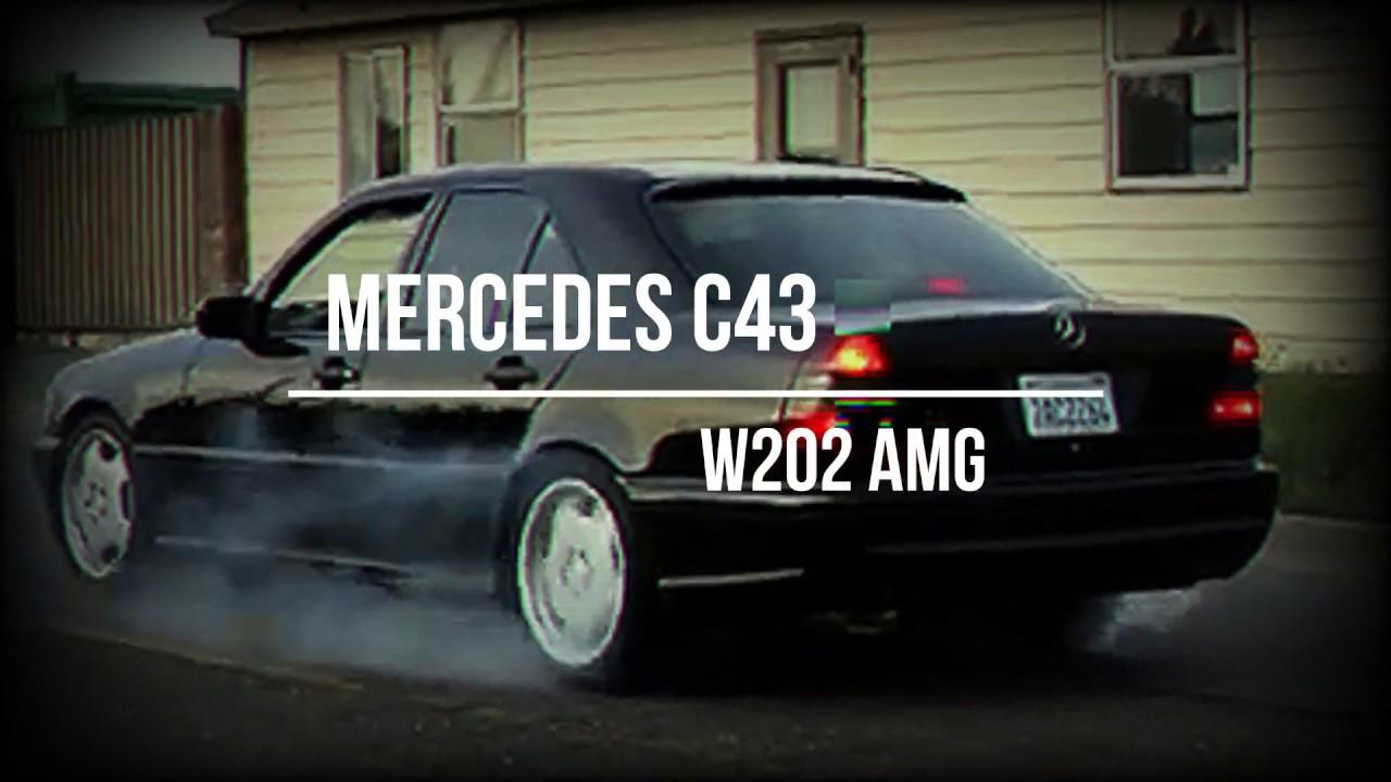 Mercedes-Benz C43 AMG W202 Burnout