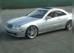 Mercedes-Benz CL500 C215 Drift