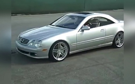 Mercedes-Benz CL500 C215 Drift