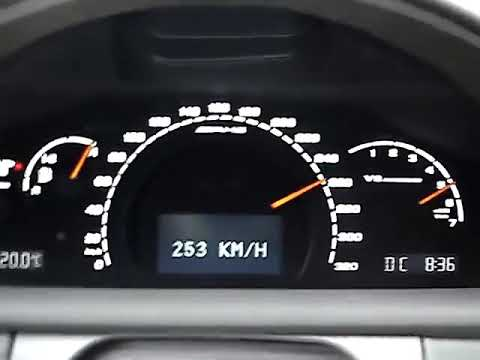 Mercedes-Benz CL55 AMG W215 Acceleration from 0 to 300 km/h