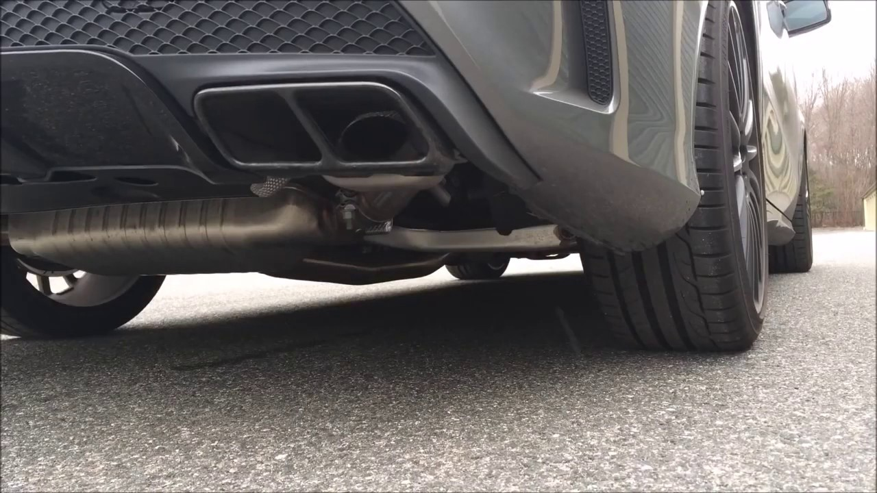Mercedes-Benz CLA45 AMG Turbo Exhaust Sound