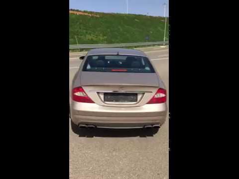 Mercedes-Benz CLS W219 Burnout