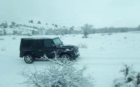 Mercedes-Benz G320 Snow Walk