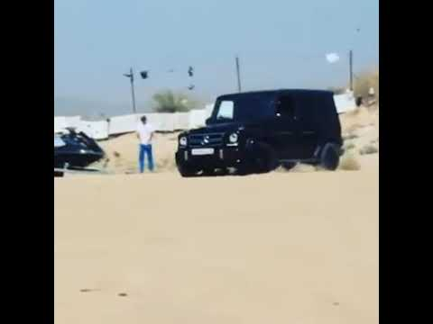 Mercedes-Benz G63 On The Beach
