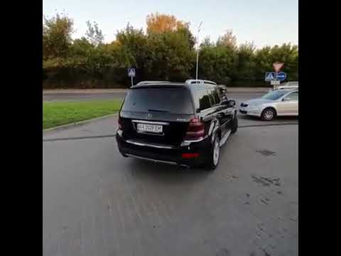 Mercedes-Benz GL500 V8 X164 Custom Exhaust System