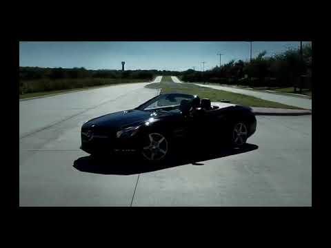 Mercedes-Benz SLK R172 Convertible Driving
