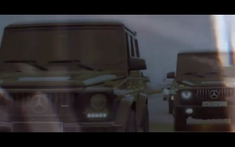 Mercedes Mafia - Gangster G-class Compilation, Escorts, AK 47 Fire! The Kings of the Road!