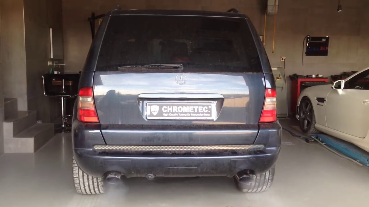 Mercedes ML W163 Soundgenerator CHROMETEC., V8 Sound