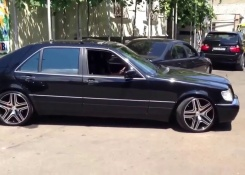 Nicel Black and Clean Mercedes-Benz S-Class W140