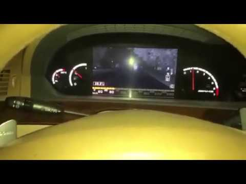 Night Drive Mercedes-Benz S65 AMG, Night Vision Function