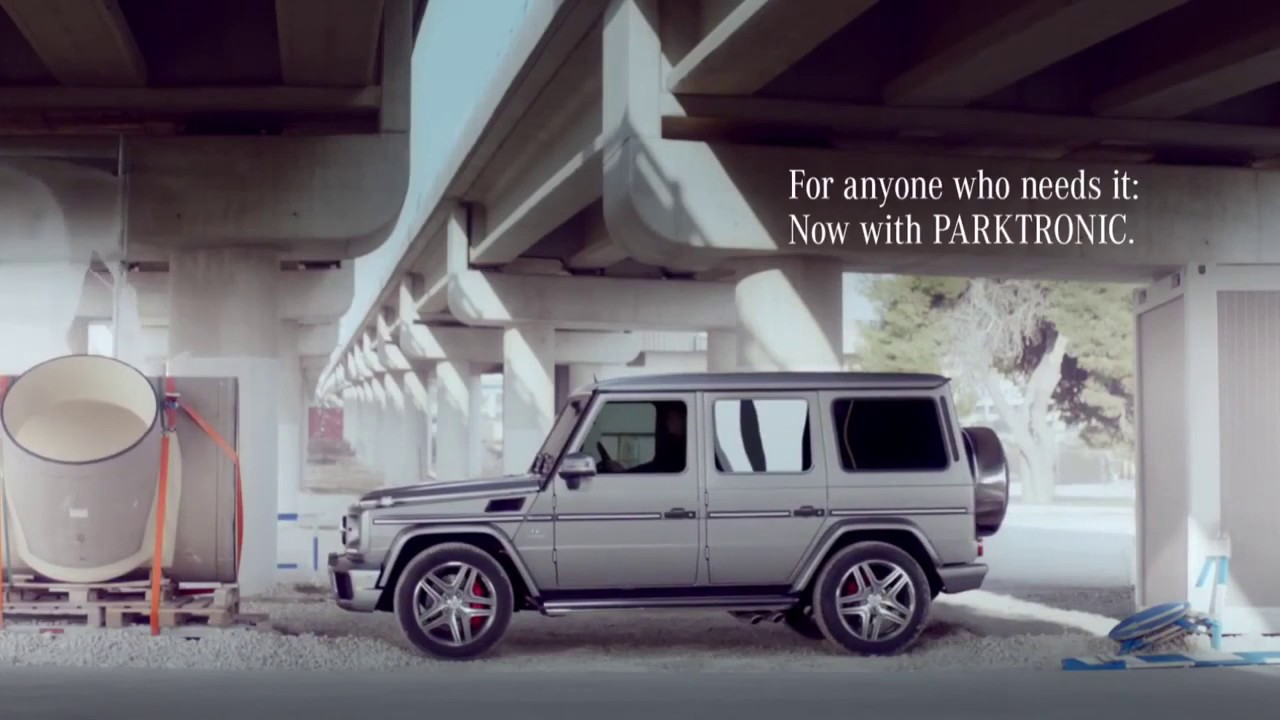 The New Generation G-class: Now with PARKTRONIC!